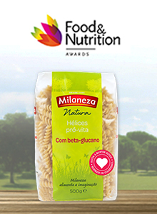 Milaneza destaca-se nos Food & Nutrition Awards com Hélices que ajudam a reduzir o colesterol