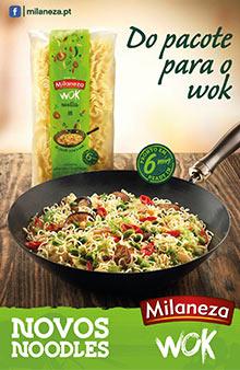 Novos Noodles Milaneza Wok prometem surpreender!